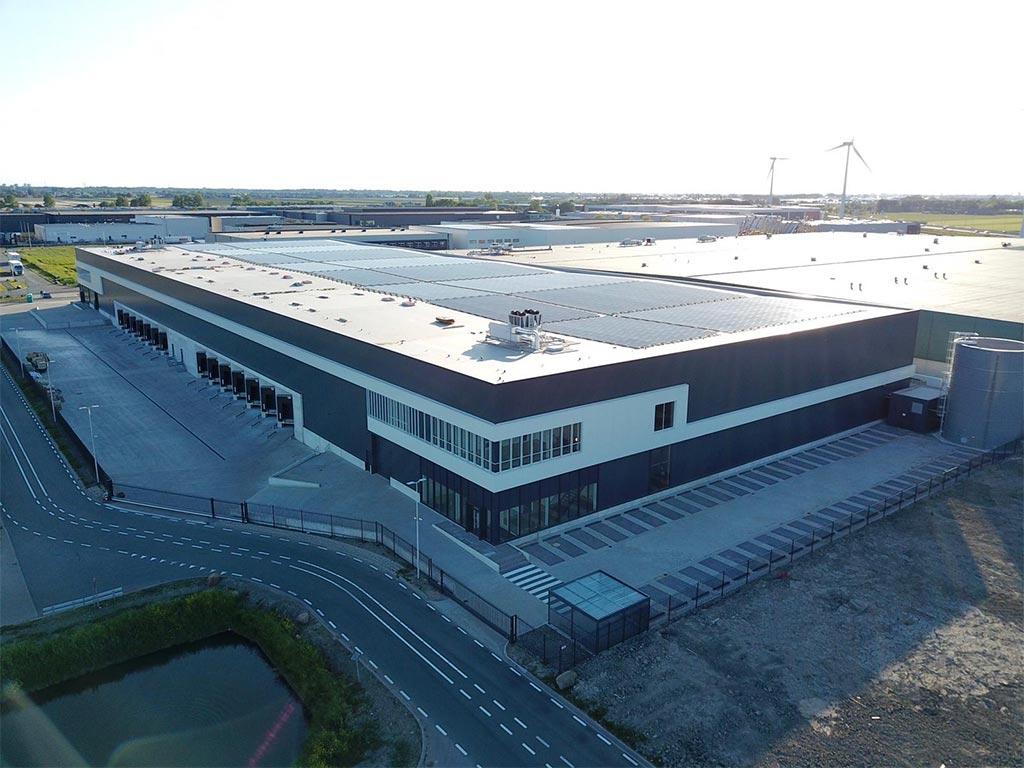 Droneshot Doelwijk Waddinxveen